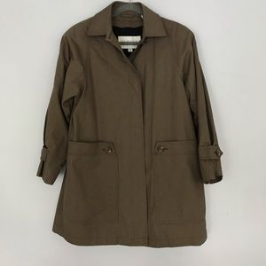 Towne London fog jacket 8p with removable lining